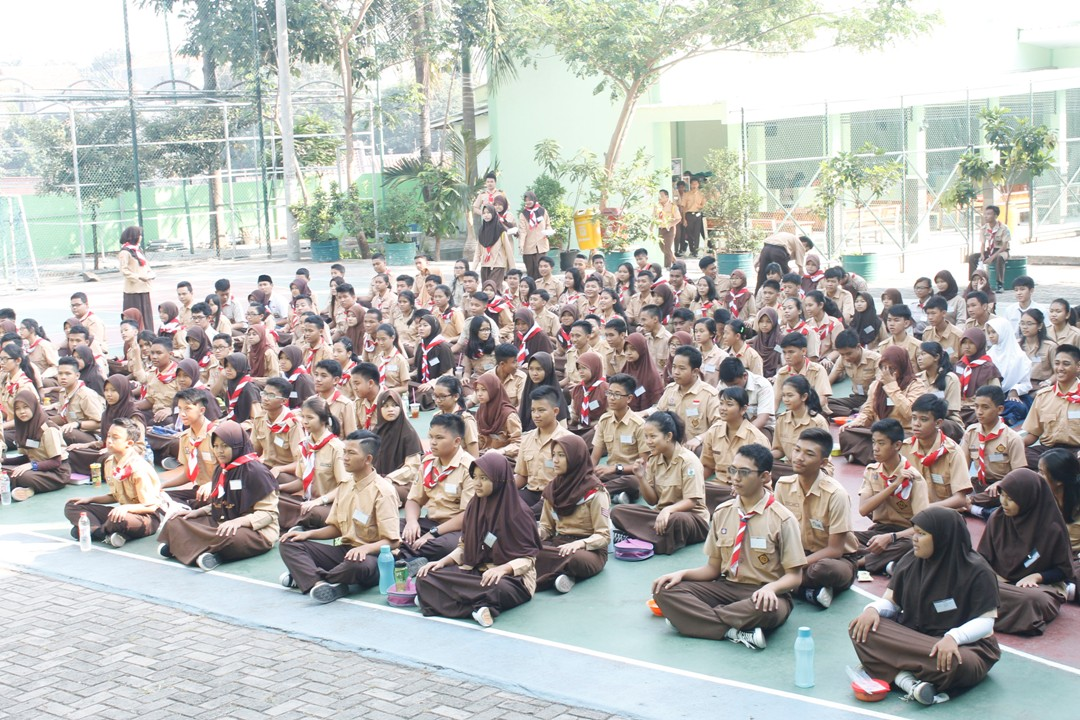 KEGIATAN MOPDB SMA NEGERI 88 JAKARTA