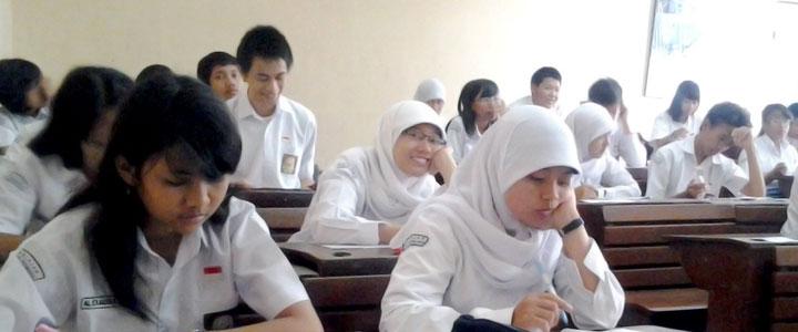Sampai hari kedua, 39 siswa di DKI tak hadir dan ikut UN susulan